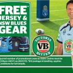 VB giving away Blues gear
