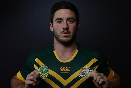 Can Ben Hunt follow up his 2014 Kangaroos debut with a spot on the Queensland bench? Source: www.couriermail.com.au