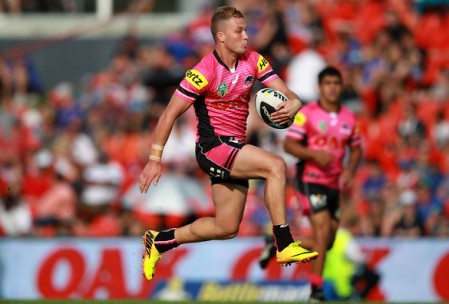 Exciting Panthers fullback Matt Moylan could be set for an Origin debut next month